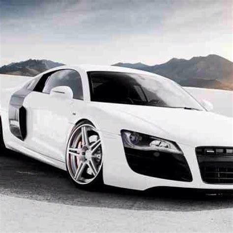 luxurious white audi  sweet luxury car lifestyle