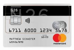 Visa Card Abrechnung : n26 girokonto und kreditkarte f r alle ~ Themetempest.com Abrechnung