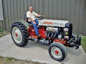 Modified Ford 8n  Re Built For Speed