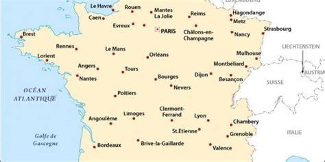 Ville De Carte by Carte Des Villes De 187 Vacances Arts Guides Voyages