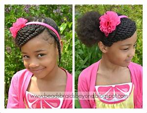 Beads, Braids and Beyond: Little Girls Hairstyle: Side ...