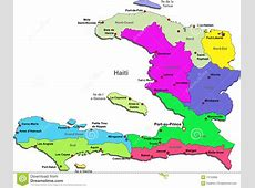 Haiti Map Royalty Free Stock Image Image 13130866