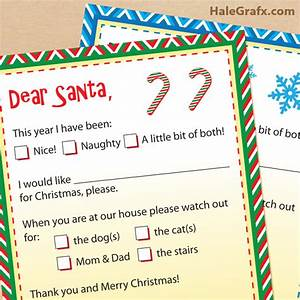 dear santa letters free printable letters to santa claus With letters to santa claus free