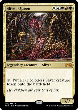 sliver queen  tempest remastered spoiler