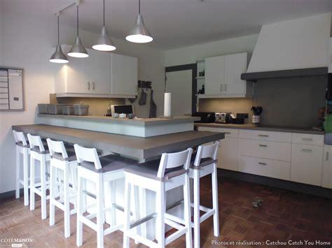 cuisine cottage rénovation cuisine en chêne granit en cuisine contemporaine cottage catchou catch you