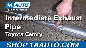 How To Replace Install Intermediate Exhaust Pipe 1998