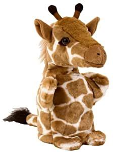giraffe hand puppet amazoncouk toys games