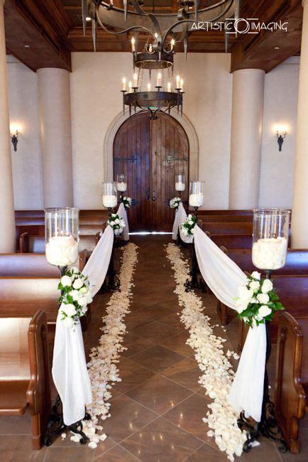 simple wedding decorations   church weddings pinterest