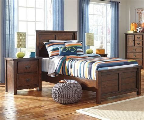 Boy Bedroom Furniture by Ladiville B567 Panel Bed Size Furniture
