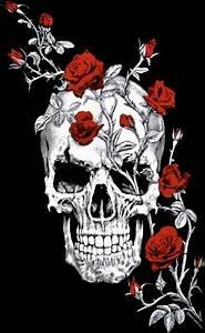 Tete De Mort Mexicaine Femme : tee shirt long femme t te de mort skull roses rock a ~ Melissatoandfro.com Idées de Décoration