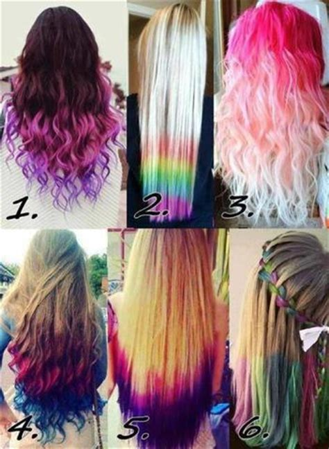 bunte haare a hair color ombre purple my style