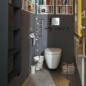 Toilette Chimique Pour Maison : id es d co toilettes des photos une niche pour ranger les ~ Premium-room.com Idées de Décoration