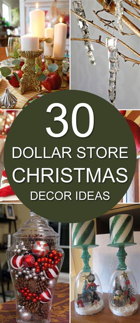 30 Dollar Store Christmas Decor Ideas  Diy Home Decor