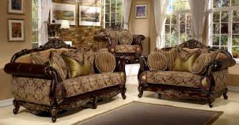 Antique Living Room Set by Antique Style 3 Pieces Living Room Sofa Set By Hollywood Decor SevenMazon F