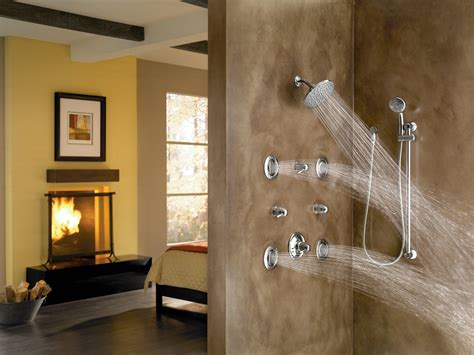 Spa Bathroom Showers by Vertical Spa Systems Trusted E Blogs
