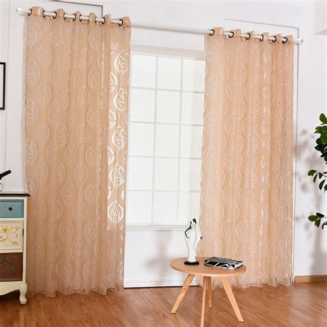 hooks bubble scissors curtains translucent window curtain