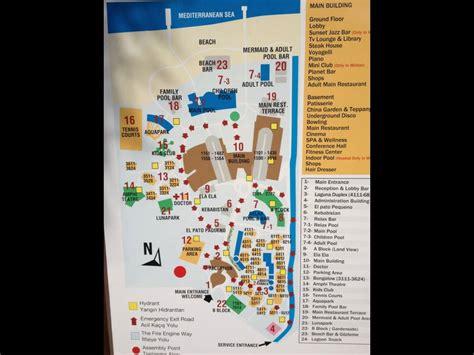 Belek Hotels Karte