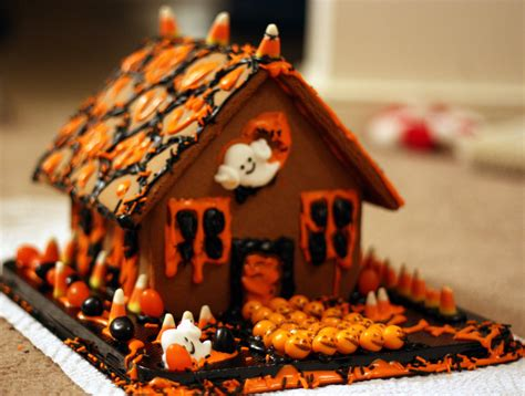 top  halloween gingerbread houses cheap easy party