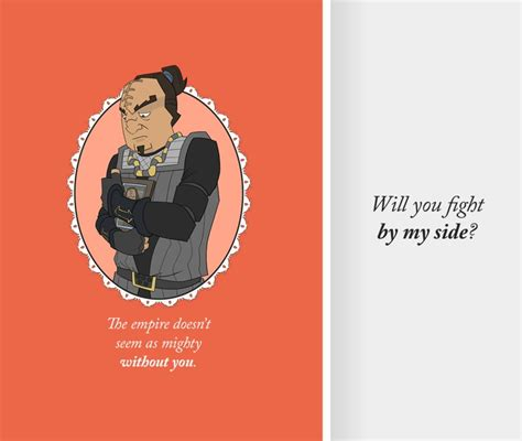 Klingon Valentine S Day Cards Perhaps Today Is Good Day To Write