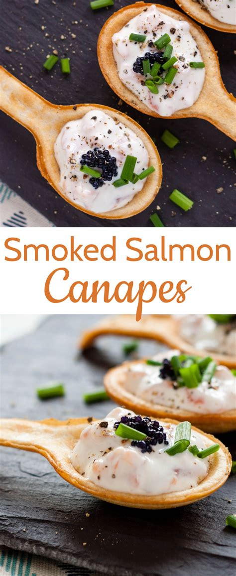 recipe simple delicious smoked salmon canap 233 s fuss free flavours