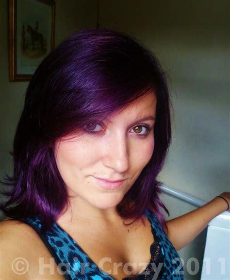 n rage color purple plum n rage purple plum hair