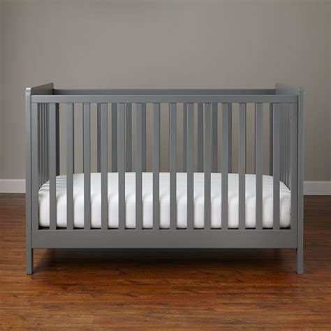 gray cribs on baby cribs convertible cribs the land of nod 3917