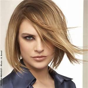 Carré Mi Long Plongeant : coiffure carr plongeant mi long femme cheveux mi longs ~ Dallasstarsshop.com Idées de Décoration