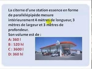 Calcul Volume Litre : exercice 36 calcul de volume m tre cube litre youtube ~ Melissatoandfro.com Idées de Décoration