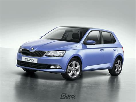 durci design skoda fabia iii social version