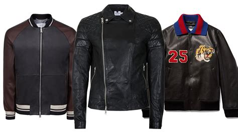 The 10 Best Men's Leather Jackets