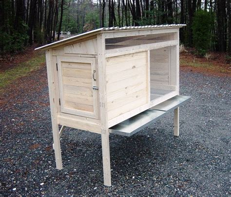 Plans For Rabbit Hutch - how to build a 5 ft rabbit hutch diy wood plans