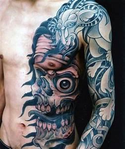 50 Skull Chest Tattoo Designs For Men
