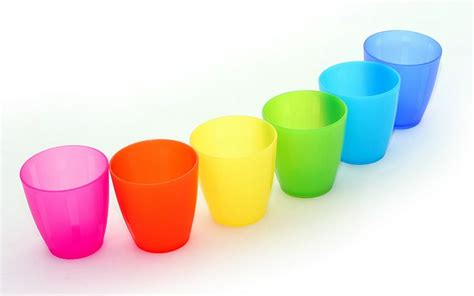 colorful cups cups in rainbow colours picture 10