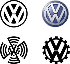 volkswagen logo vector vw logo vectors free download