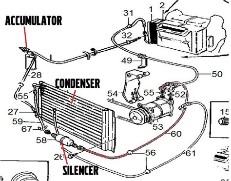 auto air conditioning service 1993 volvo 960 on board diagnostic system volvo 240 live aircond hose