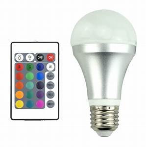 ampoule led multicolore rgb a60 4w ampoule led a 16 With carrelage adhesif salle de bain avec eclairage led multicolore exterieur
