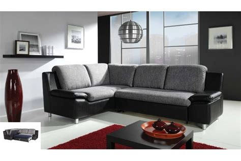 canapé cuir et tissu salon cuir tissu canape fauteuils accueil design et mobilier