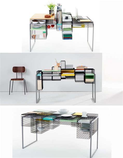 table de travail bureau meuble gain de place des meubles 2 en 1 100 design