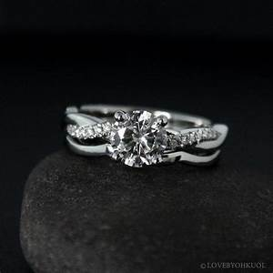 image gallery vine band With twisted engagement ring with wedding band