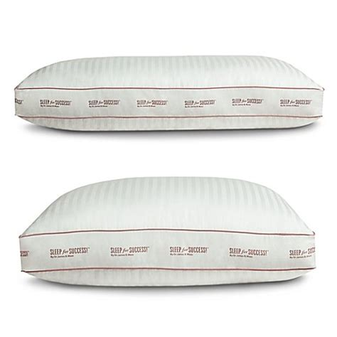 sleep for success pillow sleep for success by dr maas side sleeper pillow bed