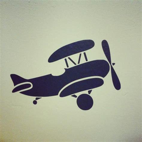 muursticker kinderkamer vliegtuig muursticker vliegtuig leuk voor vliegtuigkamers design