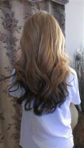 reverse ombre. i kinda already have this going on ...