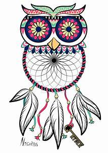 Owl Dreamcatcher Tattoo by natalie-carbis | Owl Know and ...