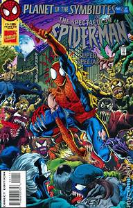 Comic books in 'Planet of the Symbiotes'
