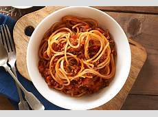 Spaghetti Bolognese Healthier Happier