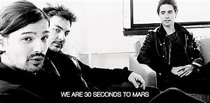 thirty seconds to mars 30 seconds to mars gif | WiffleGif