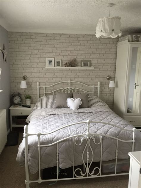 Tapete Schlafzimmer Ideen by Brick Wallpaper Bedroom In 2019