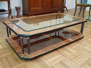 Table Basse Occasion : table basse bois et chiffons occasion ~ Teatrodelosmanantiales.com Idées de Décoration