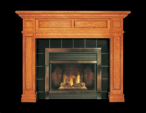 Interior Best Wood Fireplace Mantel Kits Decor For