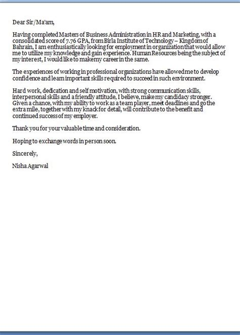 cover letter  resume excellent professional